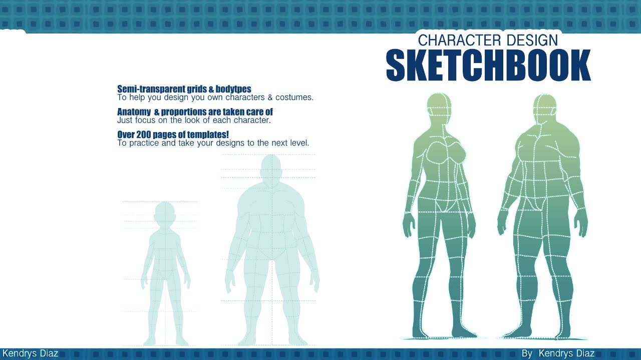 character design sketchbook youtube