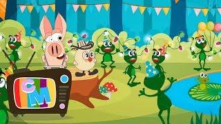 Repeat youtube video Colaj cantece gradinita/Ratustele mele - Clopotelul Magic - cantece pentru copii