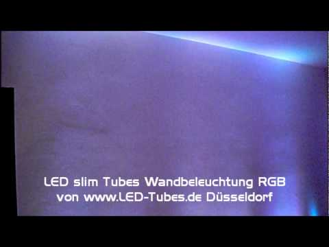 wohnzimmer beleuchtung mit multicolor led youtube. Black Bedroom Furniture Sets. Home Design Ideas