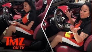 T.I. Gifts Tiny $225k Custom Mercedes-Benz for Her Birthday | TMZ TV
