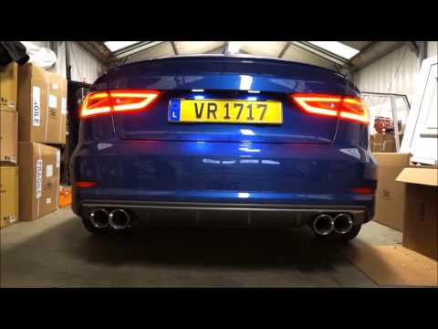 Audi S3 Sedan 8v Armytrix Exhaust Mods Best Tuning Review Price