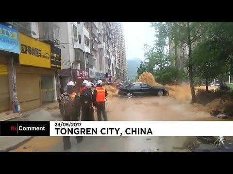 Torrential rain causes havoc across southwest China