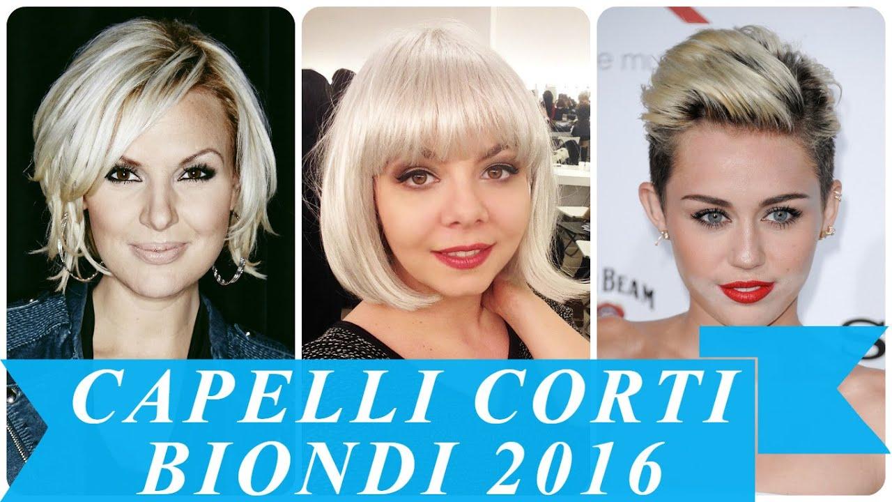Ben noto Capelli corti biondi 2016 - YouTube TL44