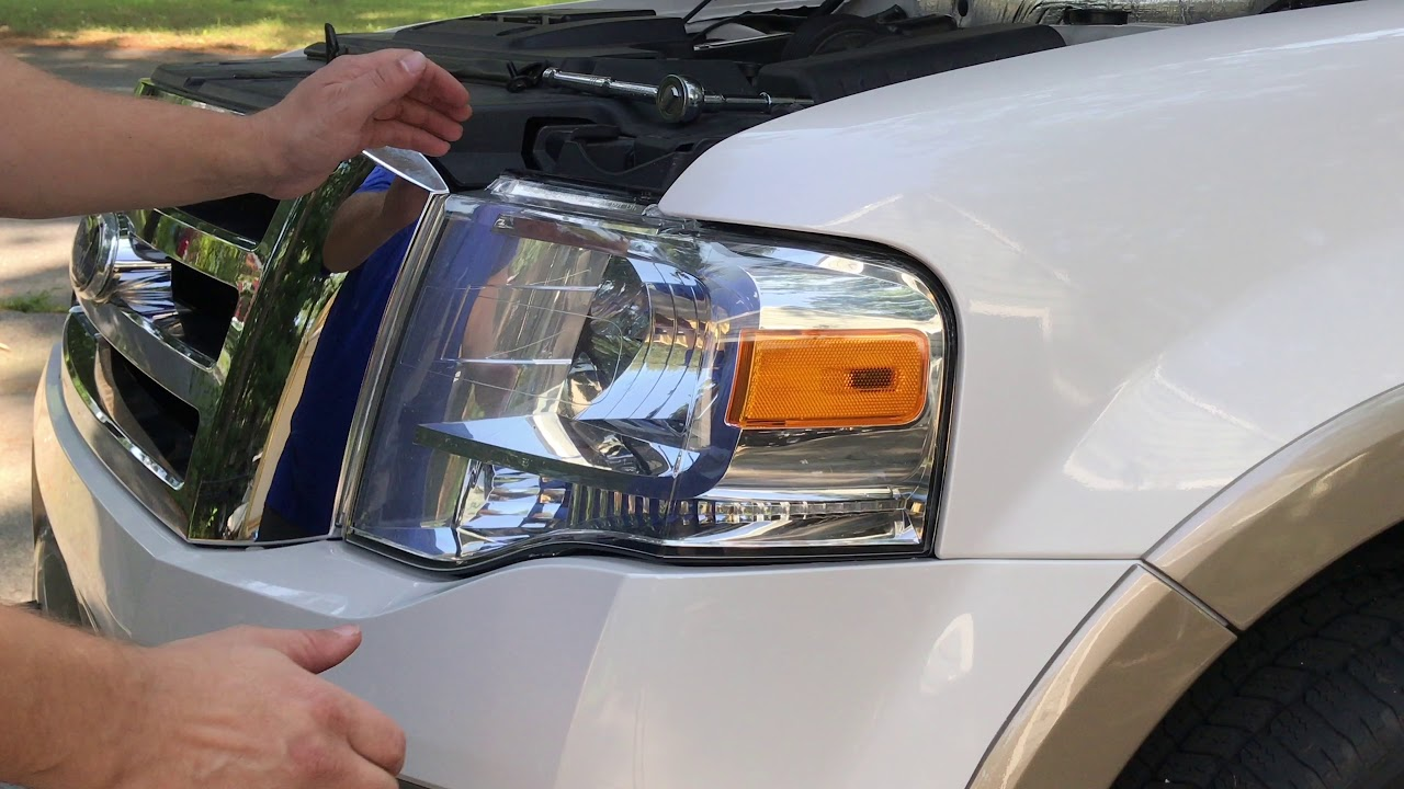 How To Replace 2007 2017 Ford Expedition Headlight Bulbs