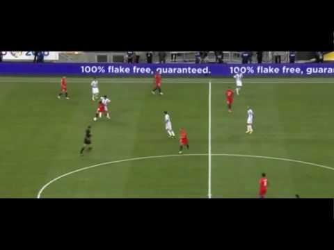 Gegenpressing - Argentina v Chile opening goal - Copa America 2016