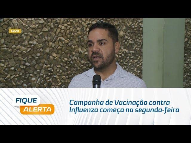 Campanha de Vacinação contra Influenza começa na próxima segunda-feira