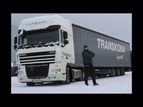 A kamionos lakása. DAF XF 105 euro 5. Így él a kamionos.