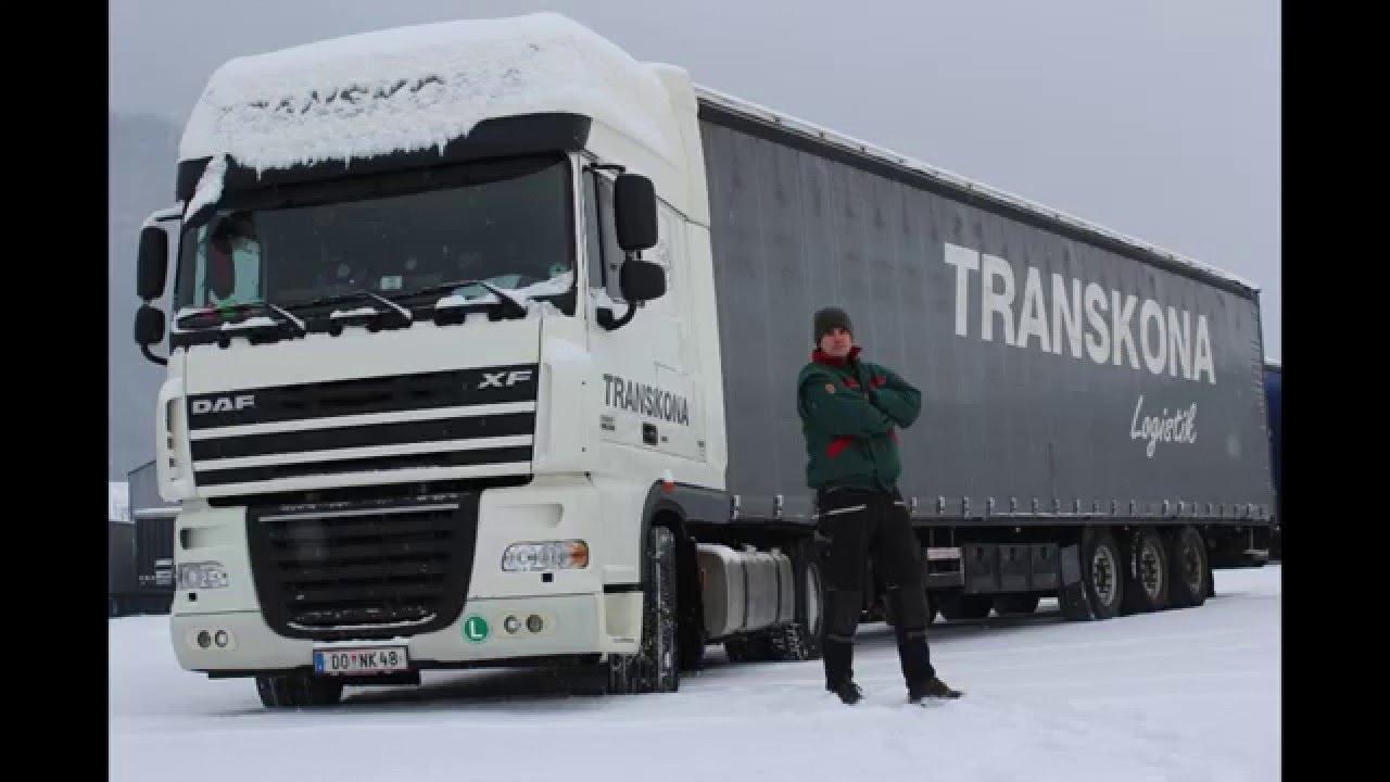 A kamionos lakása DAF XF 105 euro 5 Így él a kamionos