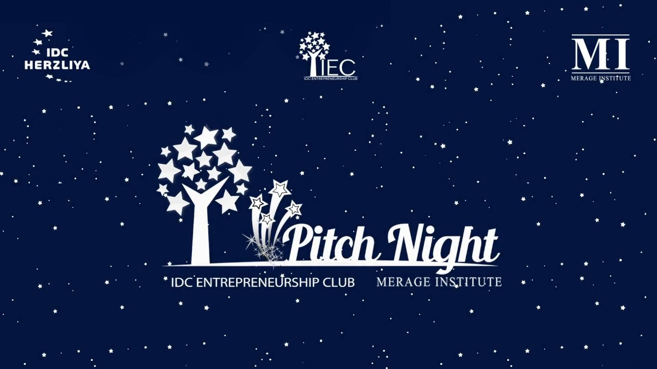 Pitch Night Competition 2018