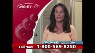 As Seen On TV - Mighty Lids - The Top & Pop - Direct Response Infomercial - 2012
