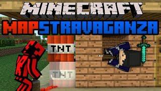 Minecraft Mapstravaganza! Deep Dark Hollow, Longest Adventure and MLP Race!
