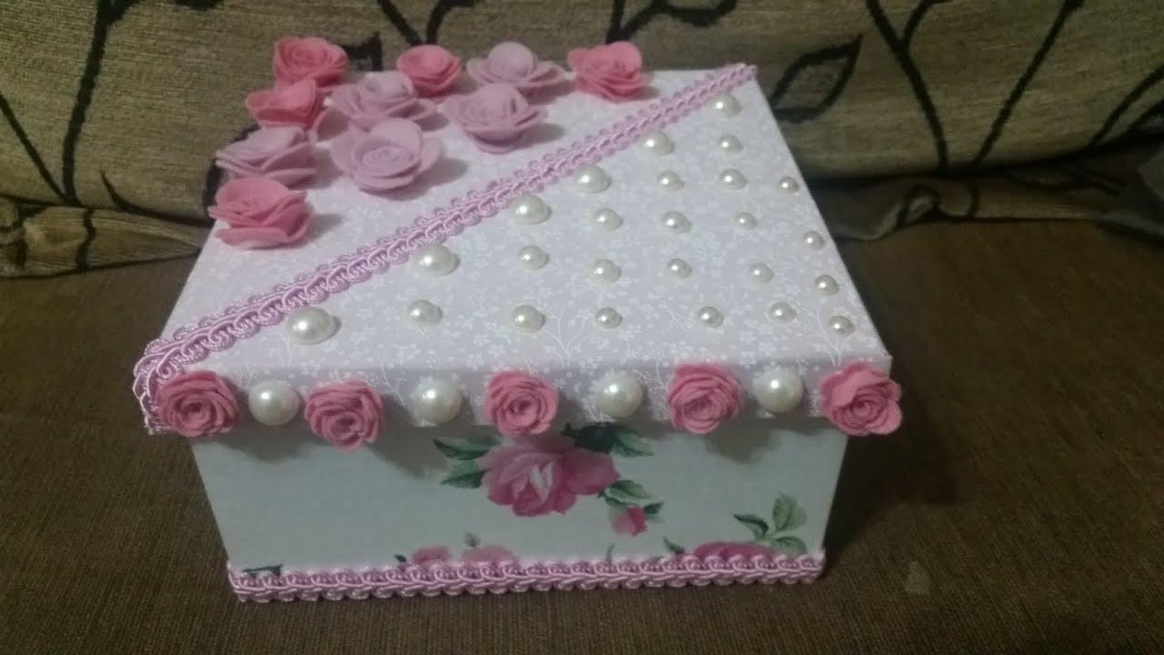 Caixa Personalizada Pérolas e Flores   #332C1B 2048x1152