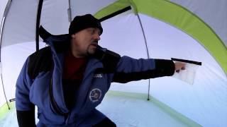 Обзор уникальных зимних палаток Снегирь серии long.