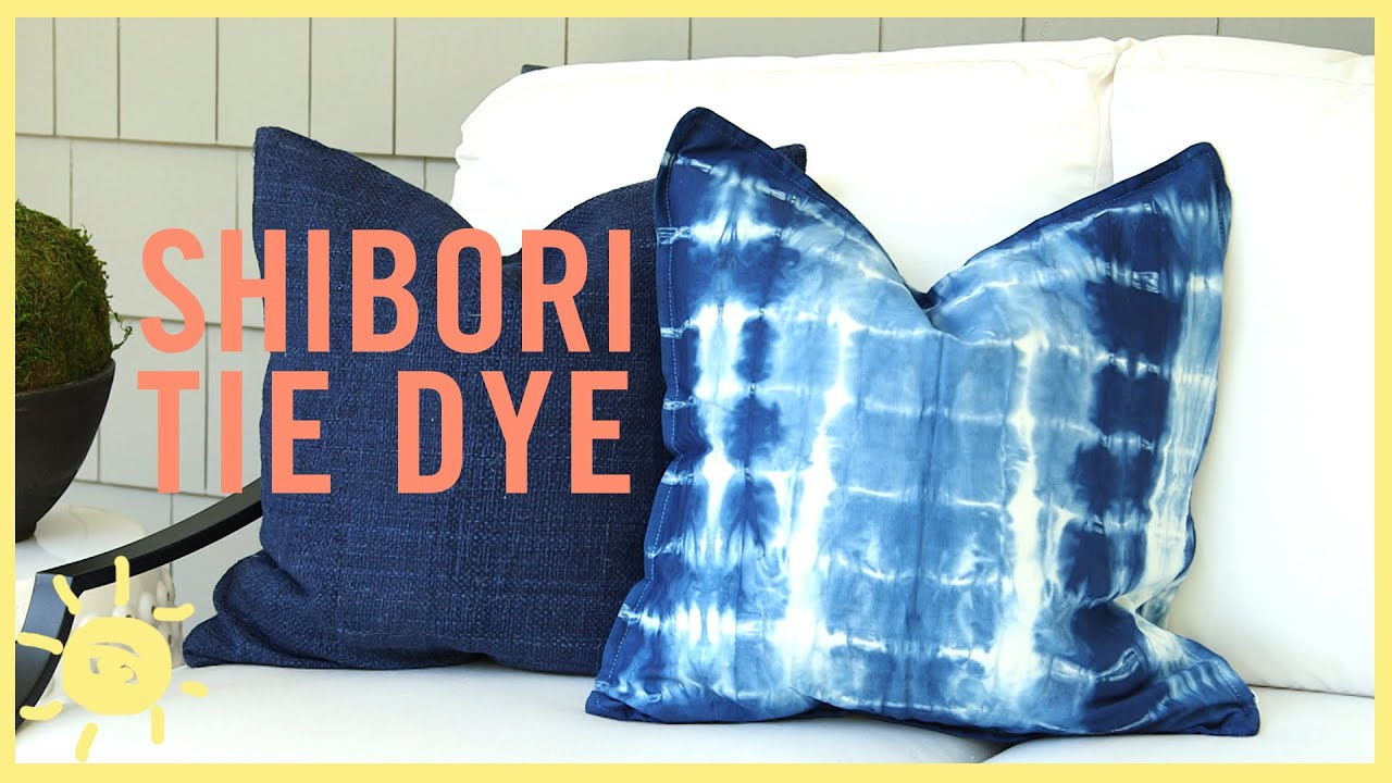Diy Shibori Tye Dye So Easy Youtube