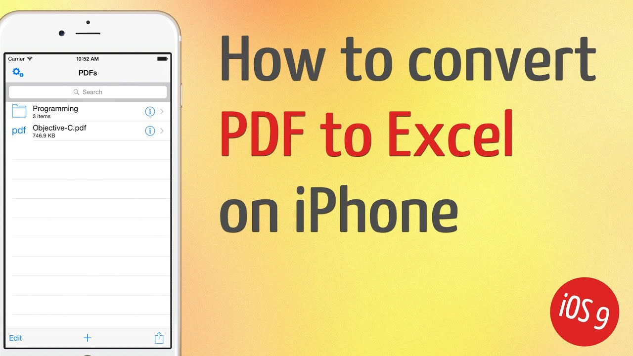 Convertire Da Pdf A Excel Gratis