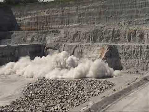 Quarry Blast Thornton Il Youtube