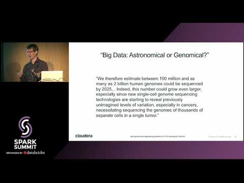 Practical Genomics with Apache Spark - Tom White