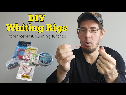 Whiting Rig Setup | Simple DIY Paternoster & Running Fishing Rigs