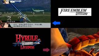 Hyrule Warriors Legends Vs. Fire Emblem Warriors (N3DS Comparison)