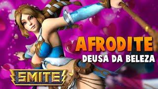 SMITE BRASIL - AFRODITE Deusa da beleza! BUILD + GAMEPLAY!