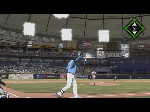 My 115 OVERALL PLAYER HITS BOMBS!! - MLB The Show 17 Road To The Show