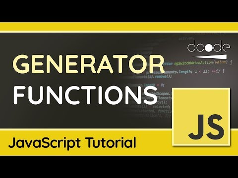 How to use Generator Functions in JavaScript - Tutorial thumbnail