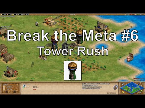 """Aoe2 """"Break the Meta"""" #6: Tower Rush with Transport Ships"""