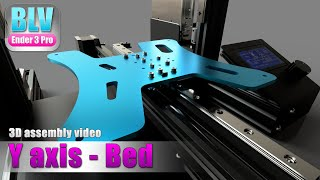 BLV Ender 3 Pro - Bed assembly