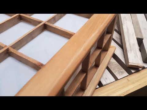 Lampu Kayu Model Jepang eps.1 #DIY #craft #woodworking