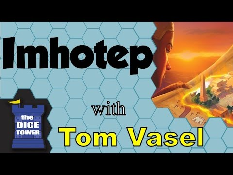 Imhotep Review - with Tom Vasel