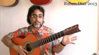 Why are we Based on Paco de Lucia's Technique...? / Ruben Diaz Andalusian Flamenco Guitar Tips Q & A