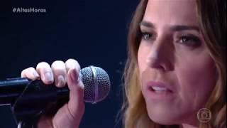 Apresentação de Anymore, da cantora Melanie C, no programa Altas Ho...