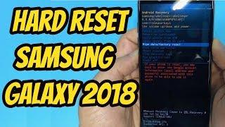 HARD RESET SAMSUNG GALAXY A6 | A6 Plus 2018 (A8,A9)