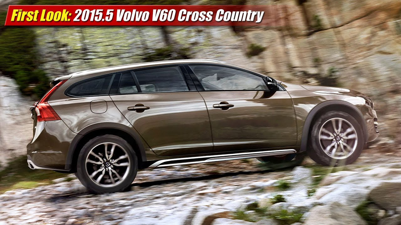 First Look 2015 5 Volvo V60 Cross Country Youtube