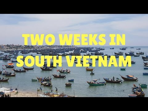 Two weeks in Southern Vietnam