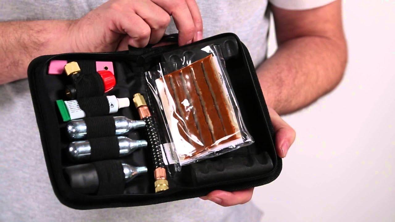 Tire Repair Kit >> GIVI - S450 Tubeless Tire Repair Kit - YouTube
