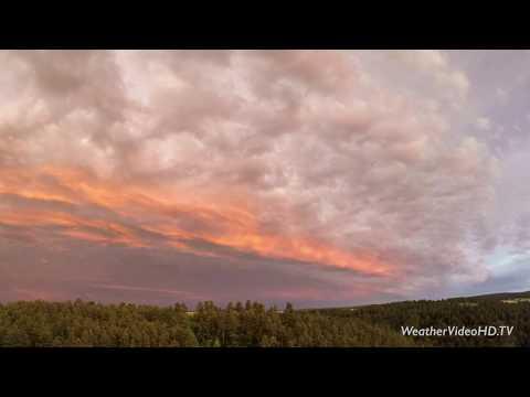 Rapid City, South Dakota, Post Storm Sunset, 29 June 2018