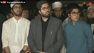 Junaid Jamshed son painful comments on media after funeral