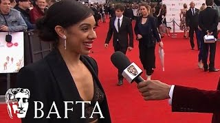 Pearl Mackie Red Carpet Interview | BAFTA TV Awards 2017