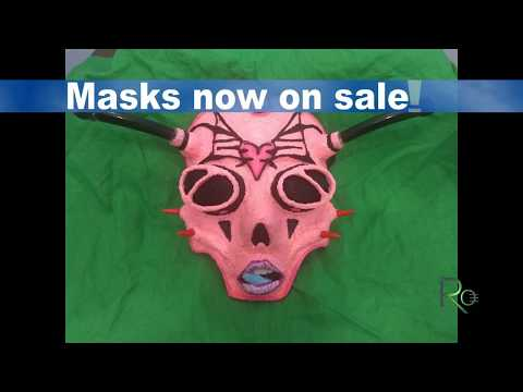 HANDMADE MASKS ON SALE!!!