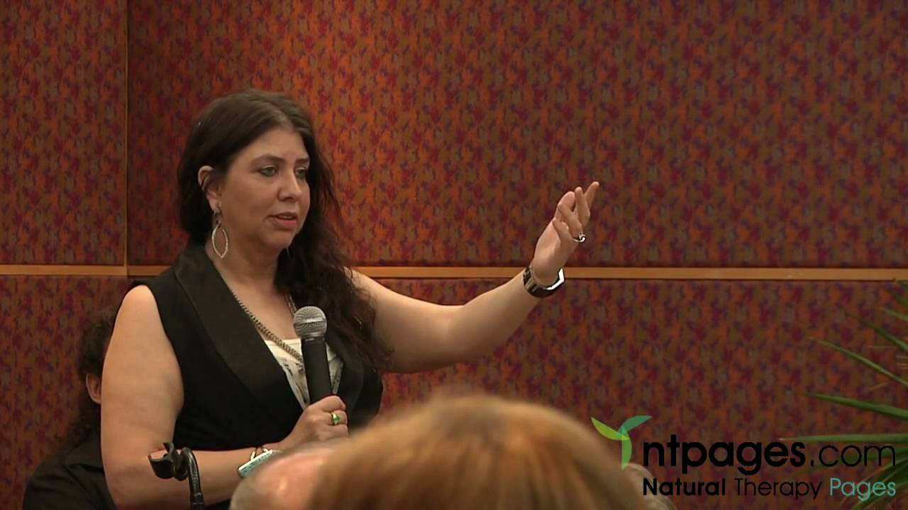 Founder Vianna Stibal Explains At A Conference In Sydney