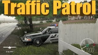 Forza Horizon 3 FHPD Traffic Stops, Giving Tickets