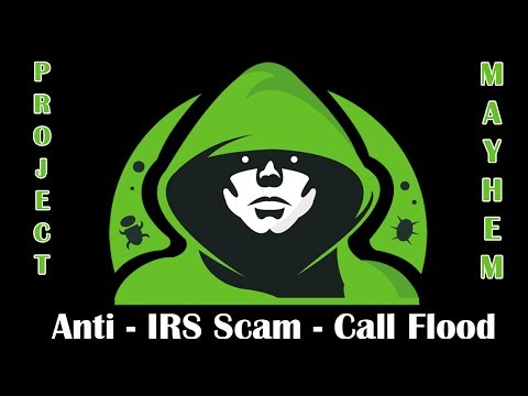 Download Youtube: Revenge on a IRS Phone Scamming Company - Call Flooder