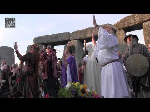 2017 Summer Solstice at Stonehenge and Druid Ceremony