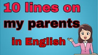 Gambar cover 10 lines on My parents in English| Essay on my parents  10 lines| 2019