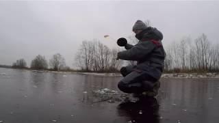 Фото Первый лед а клев как в глухозимье Щука на жерлицы и удочку.