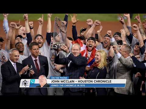 Houston Chronicle's John McClain: Astros' 2017 Title Is Tainted | The Rich Eisen Show | 1/16/20