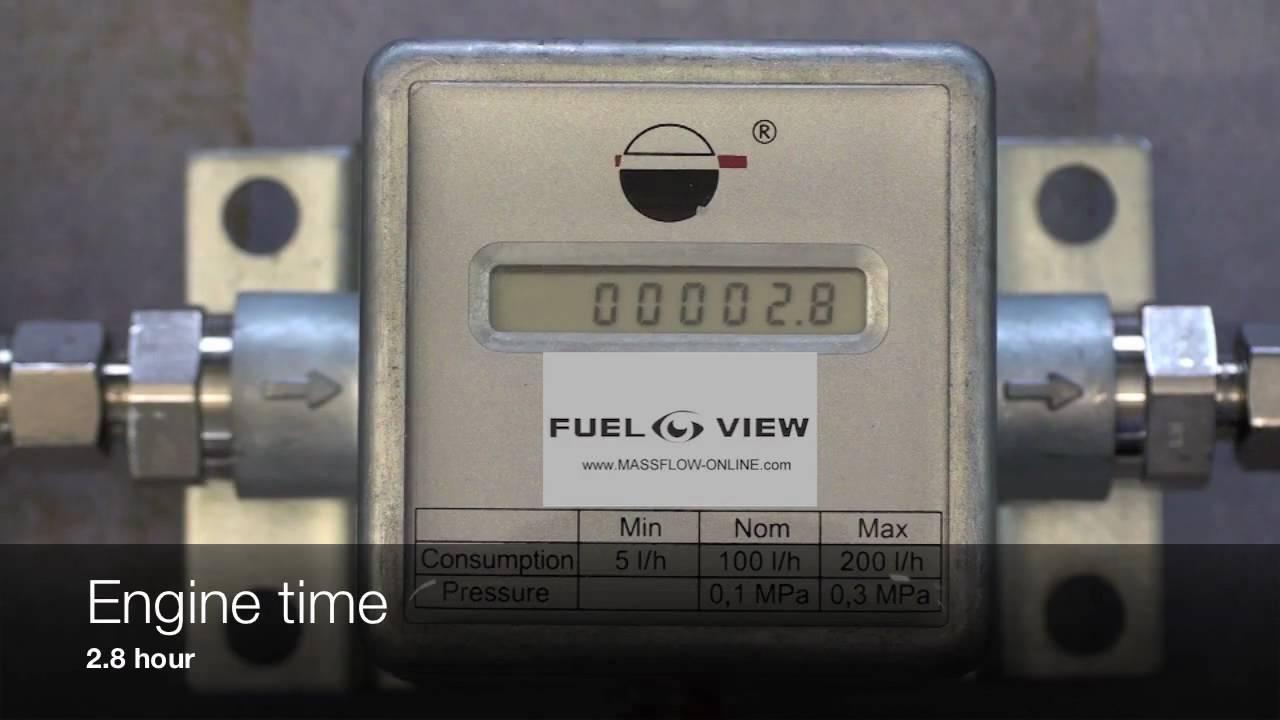 Fuel consumption meter DEMO : FUEL-VIEW