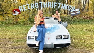Retro Inspired Thrifting (must Watch!!.. This Took A Long Time To Film And Edit So Pls)