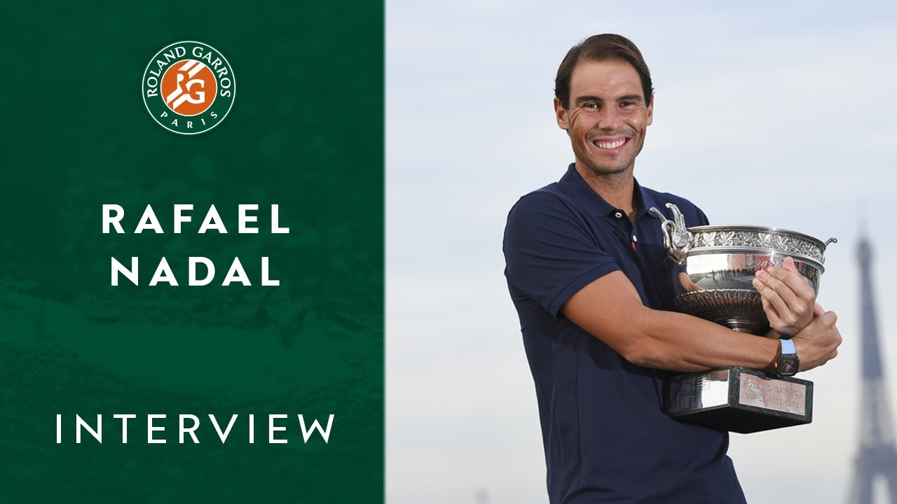 Rafael Nadal - Interview I Roland-Garros 2020